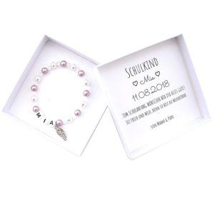 25 Geschenke zur Einschulung Geschenkideen zur Einschulung Geschenk zur Einschulung armband zur einschulung mit namen personalisiert